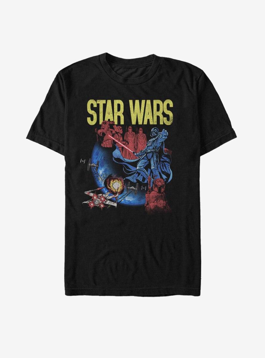 Star Wars Darth Vader Space T-Shirt