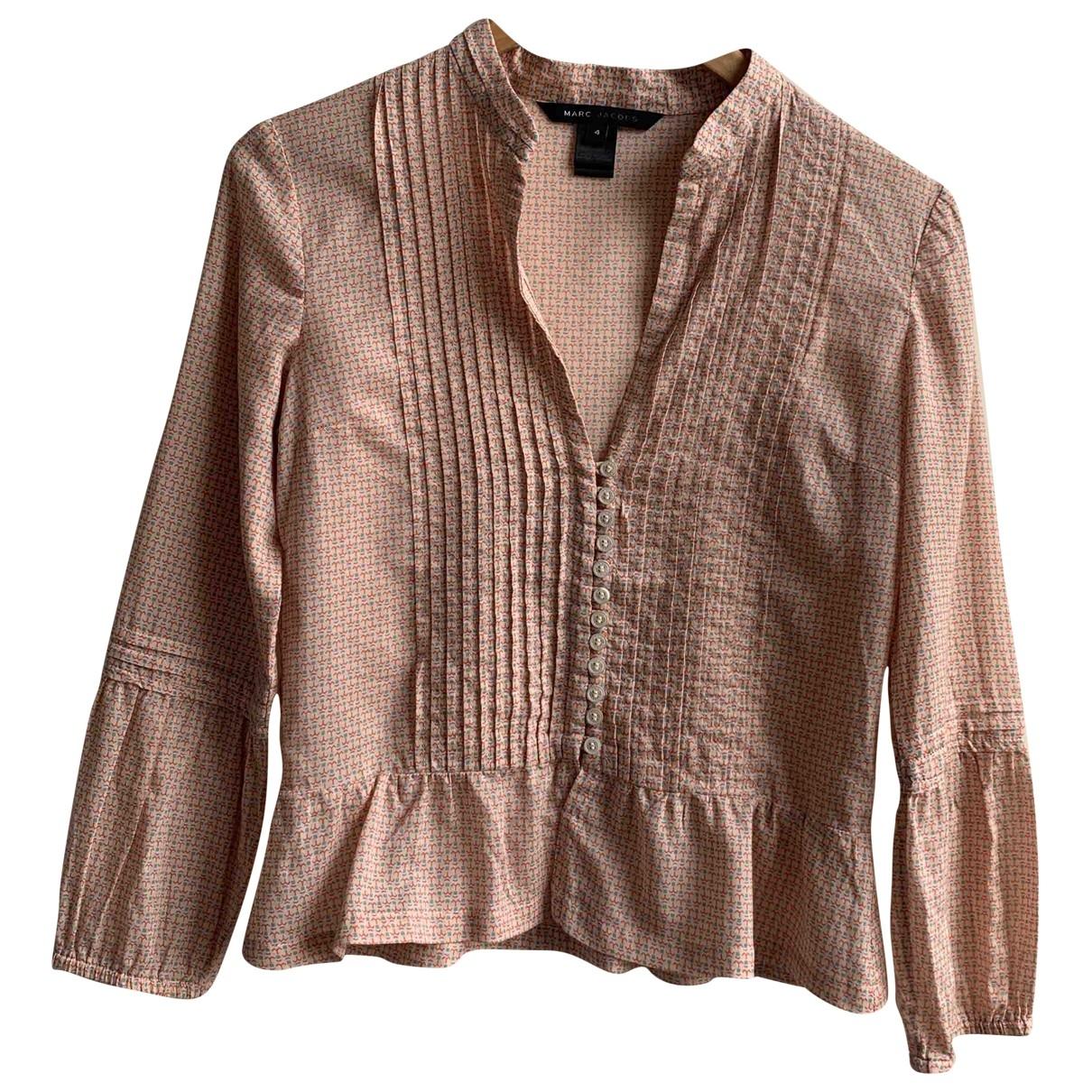 Marc Jacobs - Top   pour femme en coton - rose