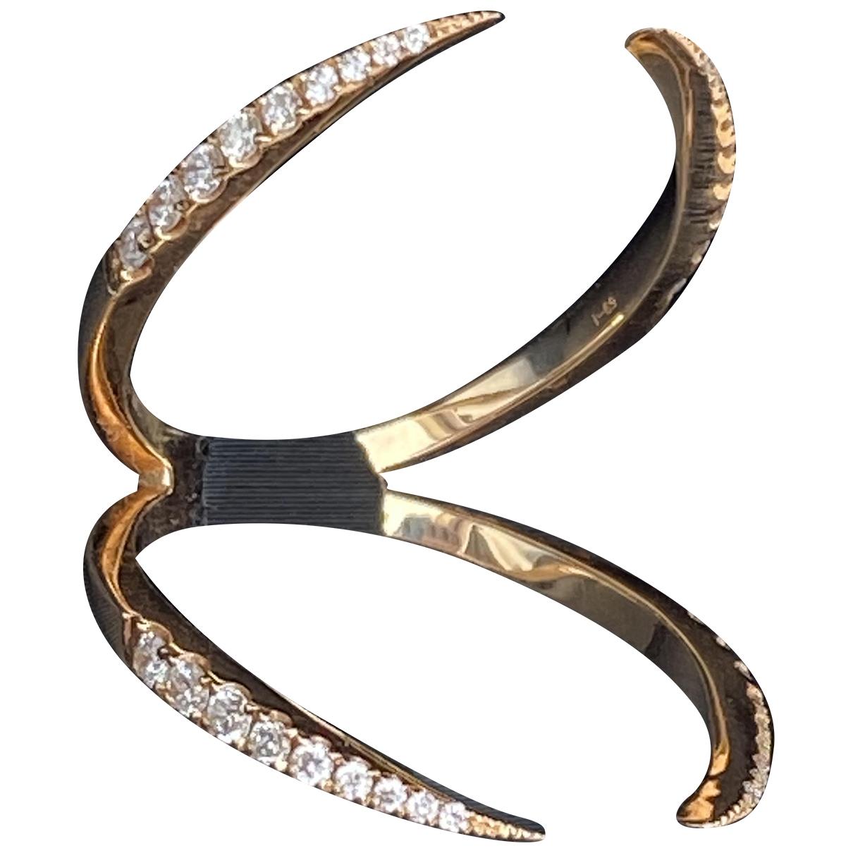 Djula - Bague Graphique pour femme en or rose - dore