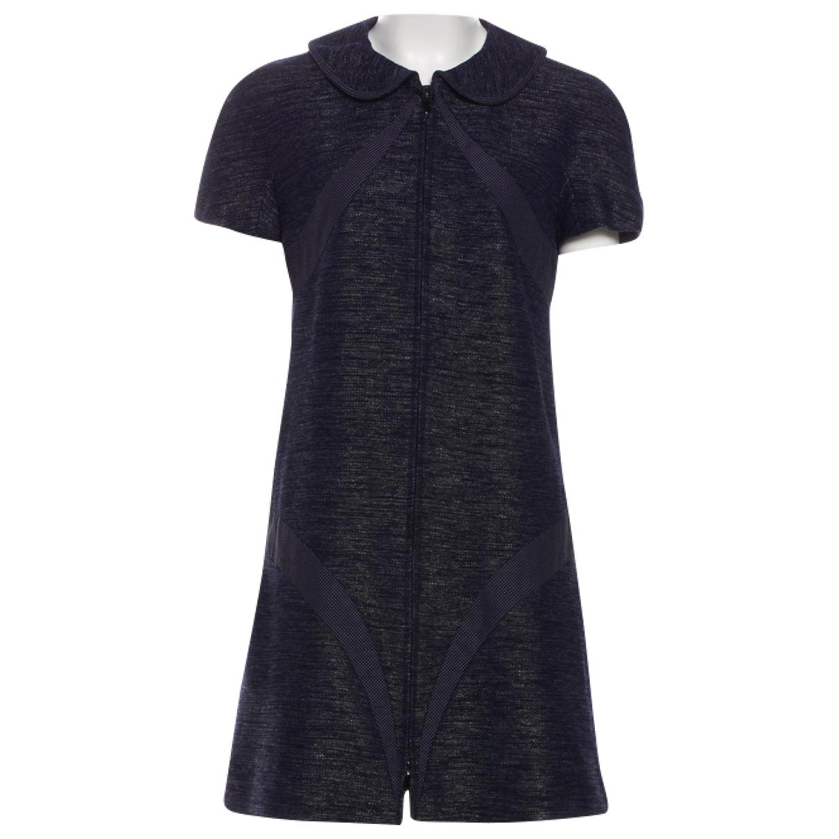 Chanel \N Navy Cotton dress for Women 40 FR
