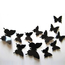 3D Butterfly Wall Sticker 12pcs