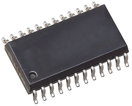 Analog Devices AD8403ARZ10, Digital Potentiometer 10kΩ 256-Position Linear 4-Channel Serial-3 Wire, Serial-SPI 24 Pin, SOIC W