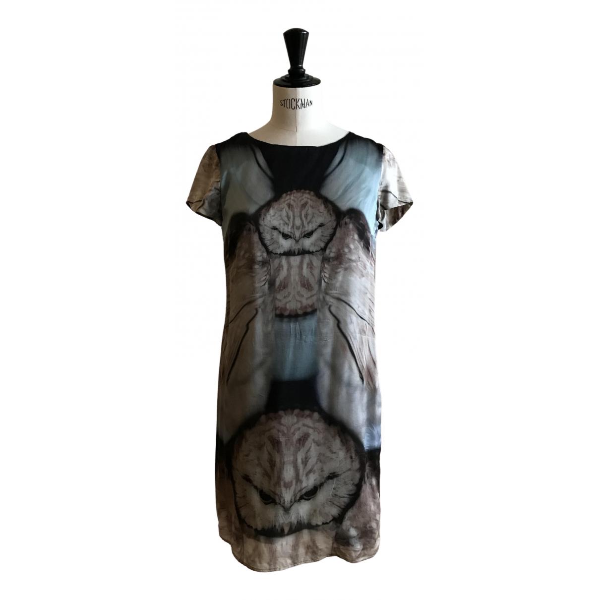 Set \N Blue Silk dress for Women 34 FR