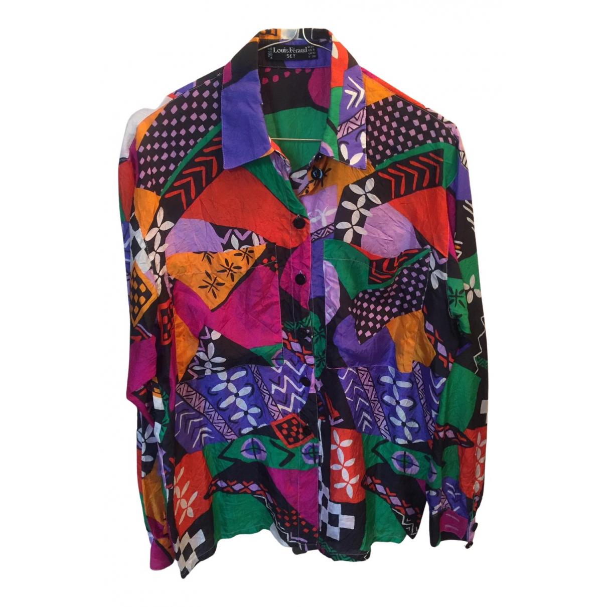 Camisa de Seda Louis Feraud