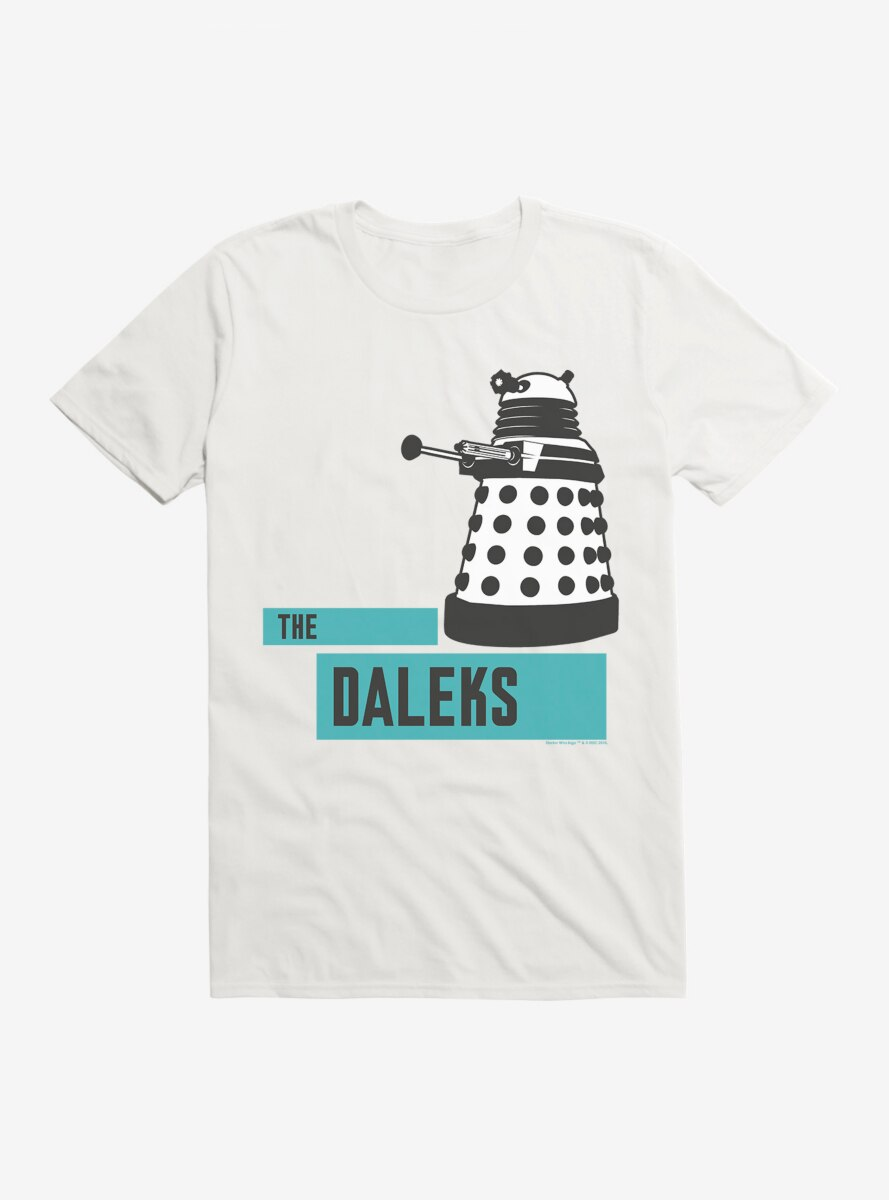 Doctor Who The Daleks Bold T-Shirt