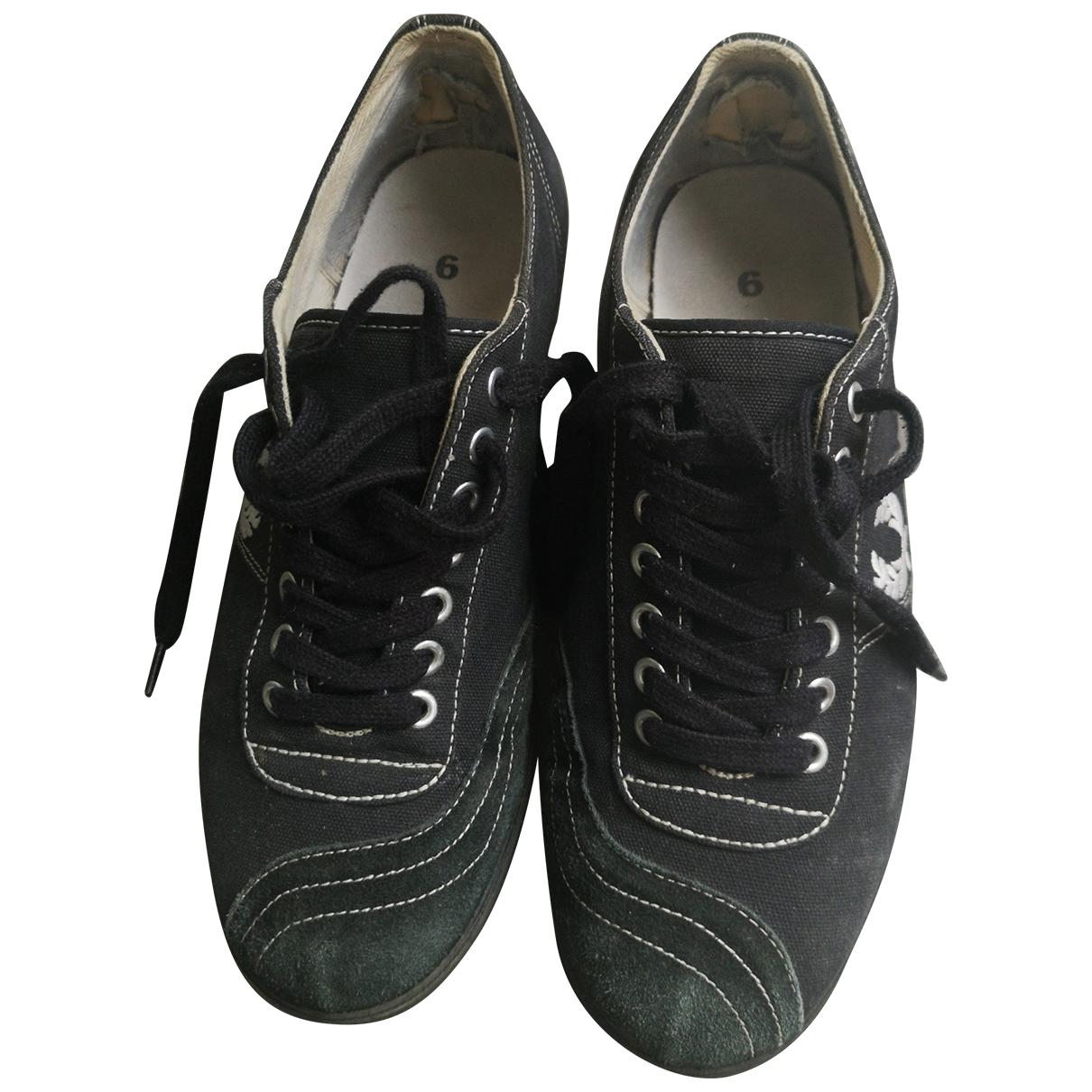 Fred Perry - Baskets   pour homme en toile - noir