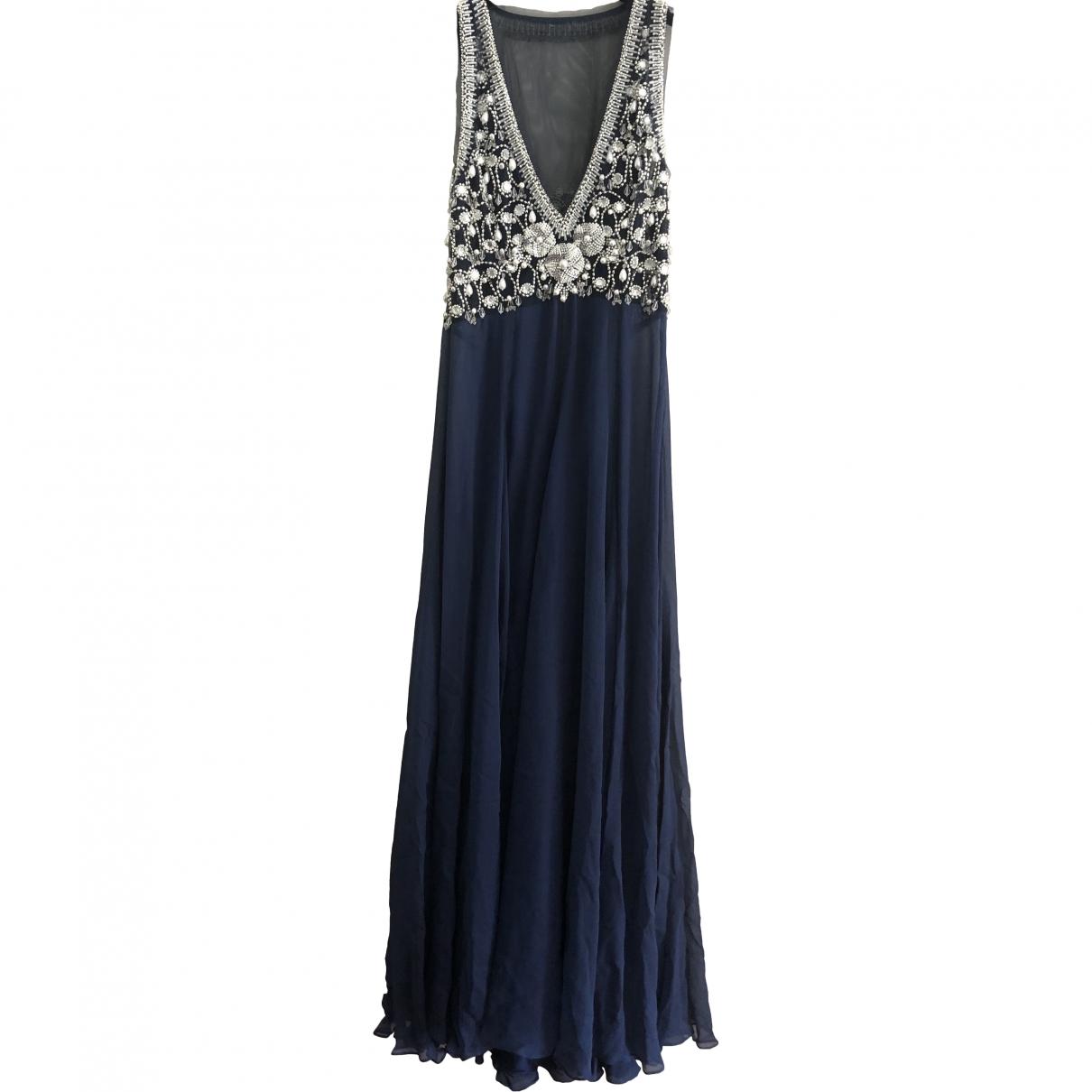 Jenny Packham \N Blue Silk dress for Women 14 UK