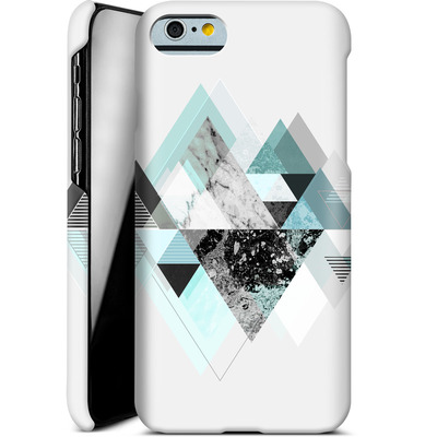 Apple iPhone 6 Smartphone Huelle - Graphic 110 - Turquoise von Mareike Bohmer