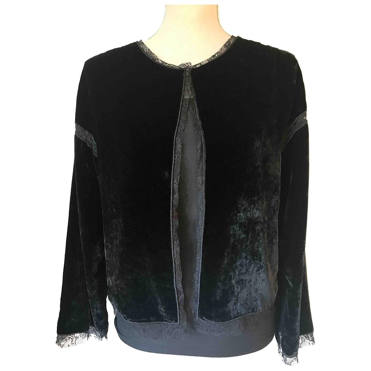 D&g \N Black Velvet jacket for Women 40 IT