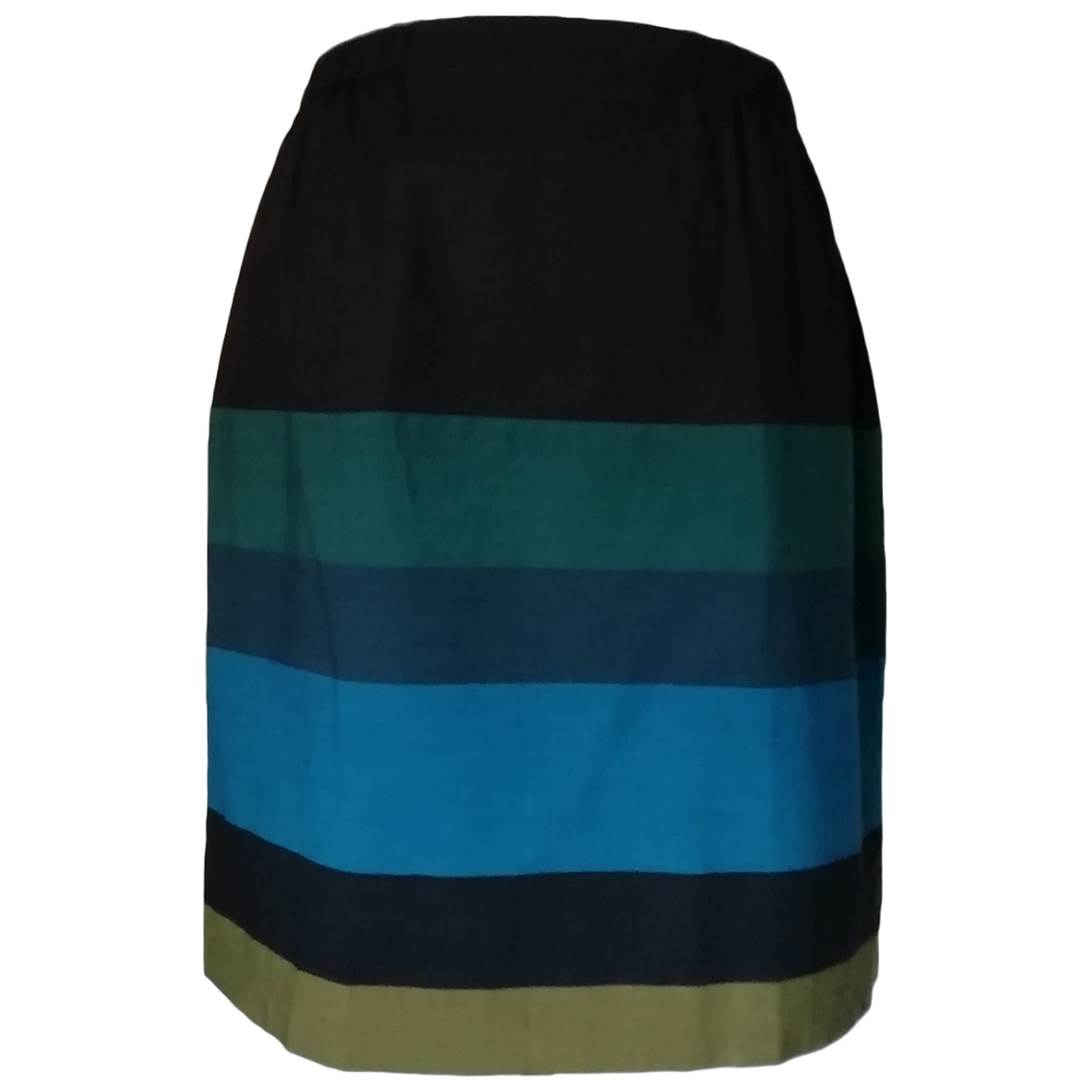 Hoss Intropia \N Multicolour Cotton skirt for Women 40 FR