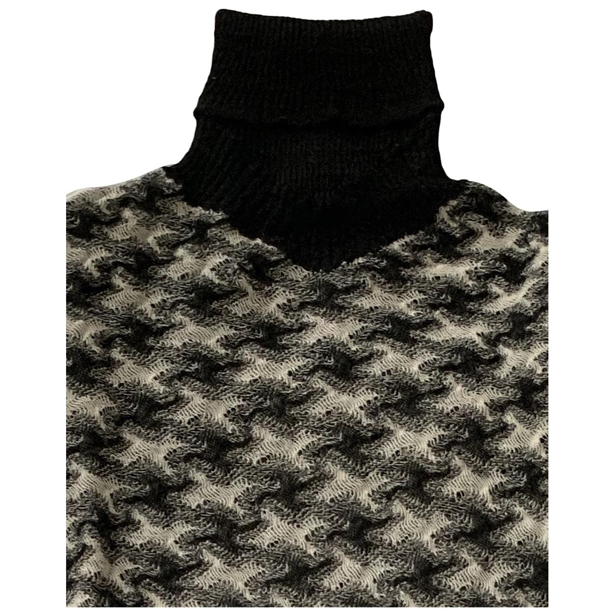 Chanel \N Black Wool Knitwear for Women 42 IT
