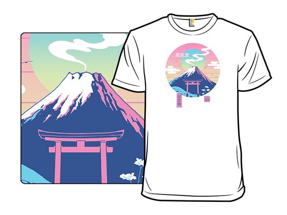 Fuji Wave T Shirt