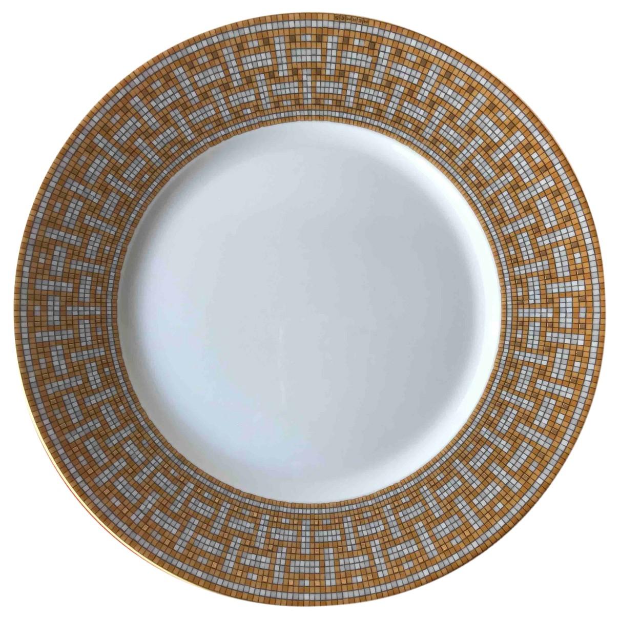 Hermes - Arts de la table Mosaique au 24 pour lifestyle en ceramique