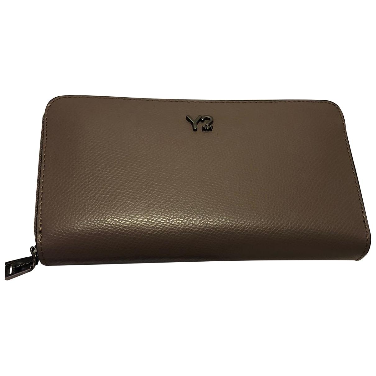 - Portefeuille   pour femme en cuir - ecru