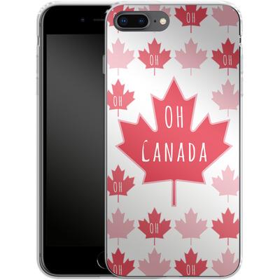 Apple iPhone 8 Plus Silikon Handyhuelle - Oh Canada von caseable Designs