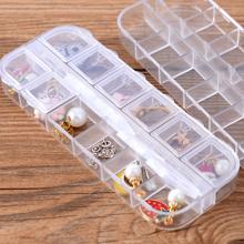 1pc Multi-grid Jewelry Storage Box