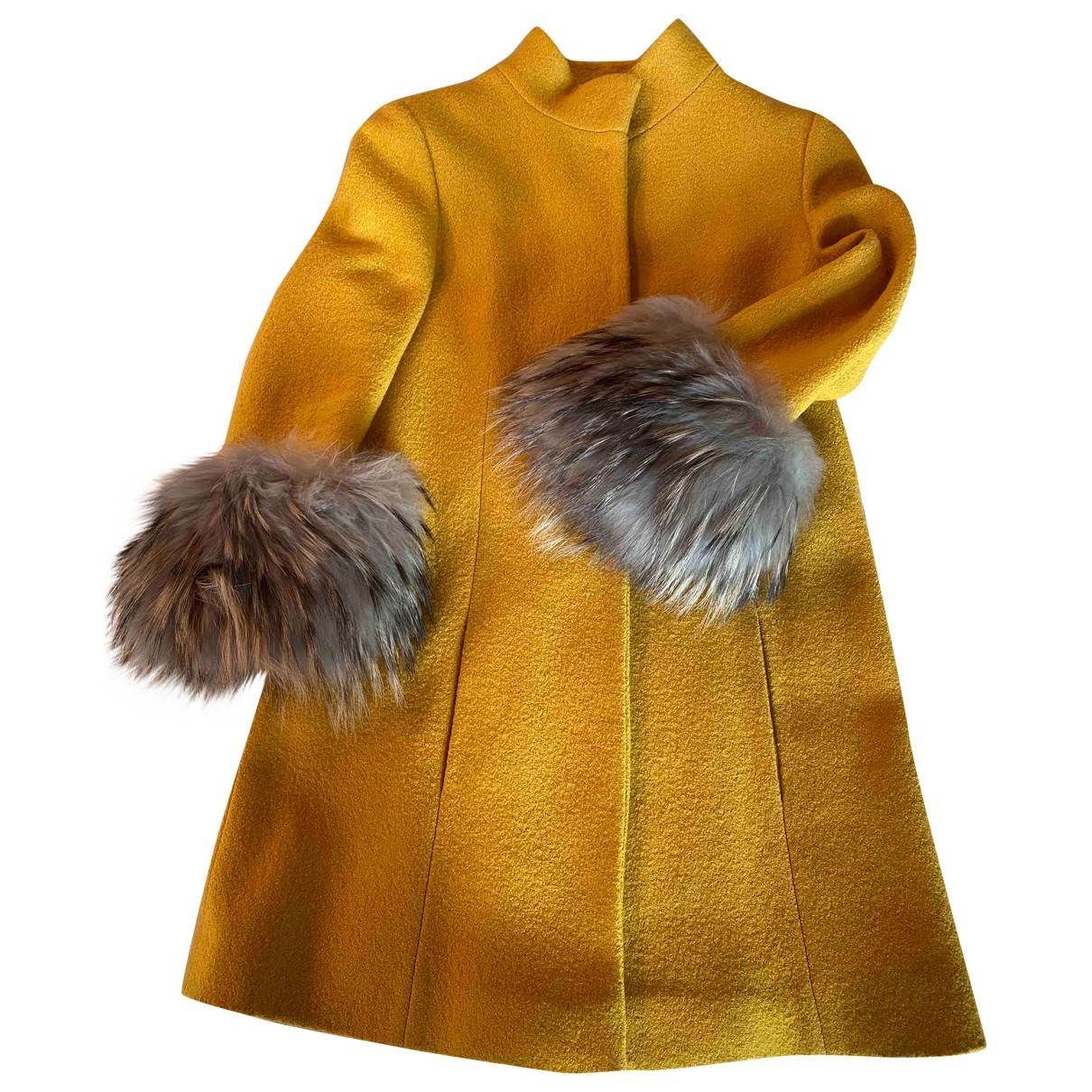 - Manteau   pour femme - jaune