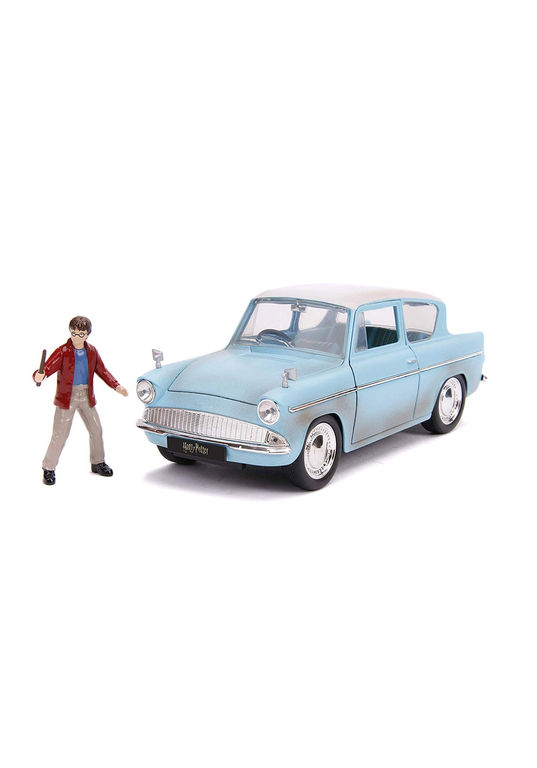 Harry Potter 1959 Ford Anglia 1:24 Scale w/ Figure