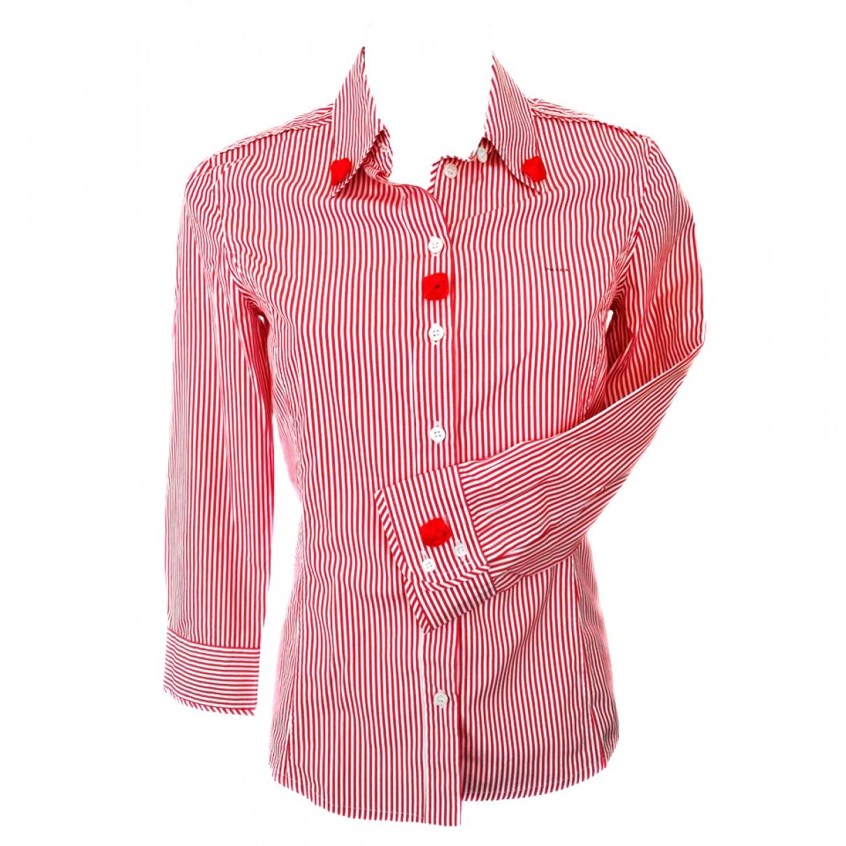 Prada \N Red Cotton  top for Women 40 IT