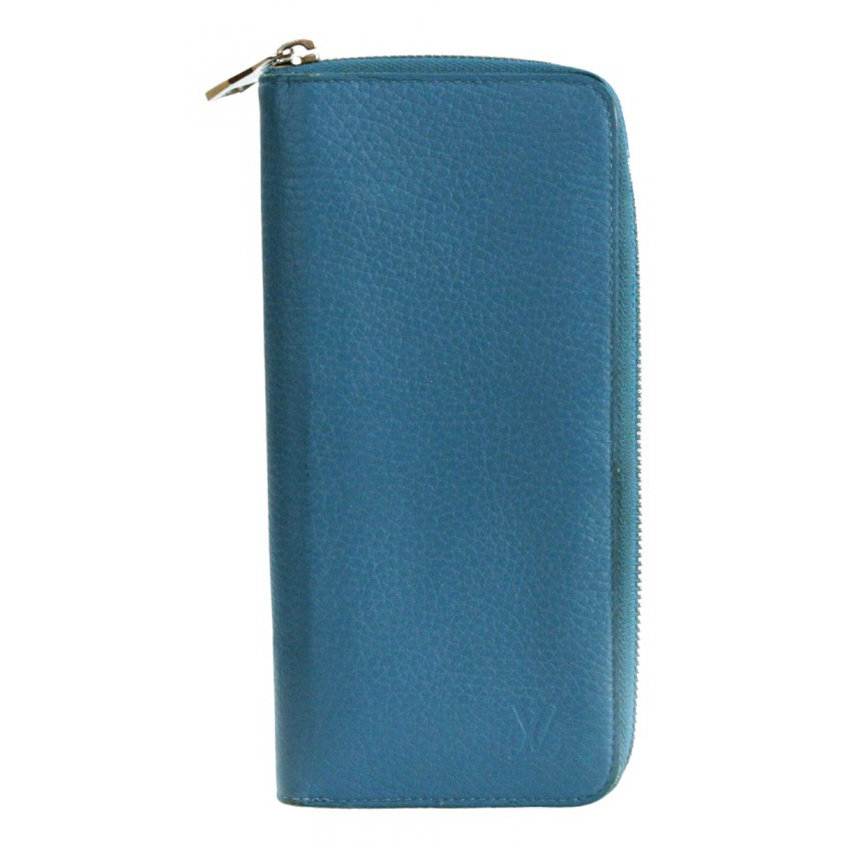 Louis Vuitton \N Kleinlederwaren in  Blau Leder