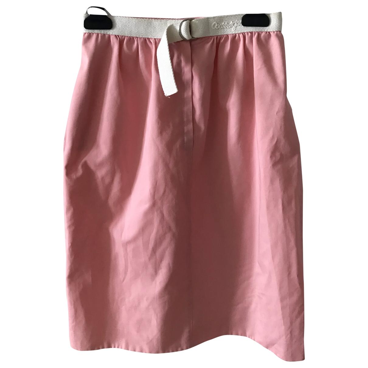 Courreges - Jupe   pour femme en coton - rose