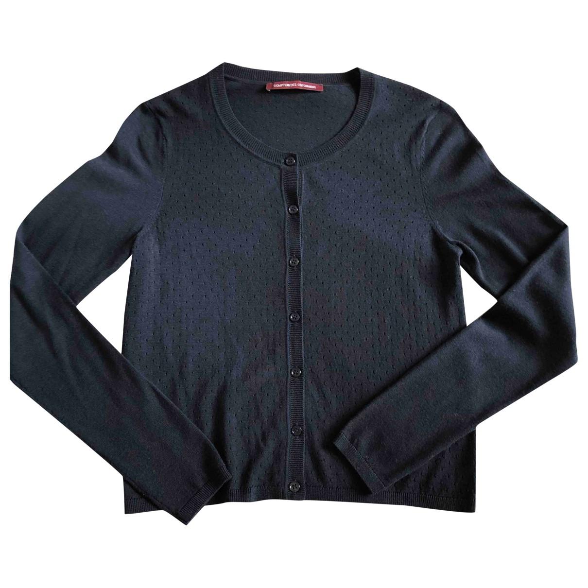Comptoir Des Cotonniers \N Navy Wool Knitwear for Women S International