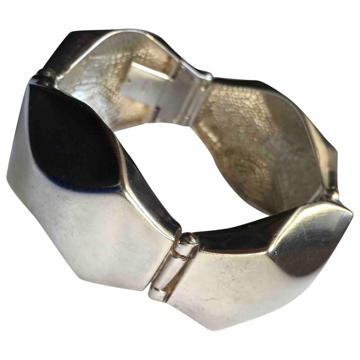 - Bracelet Art Deco pour femme en argent - argente