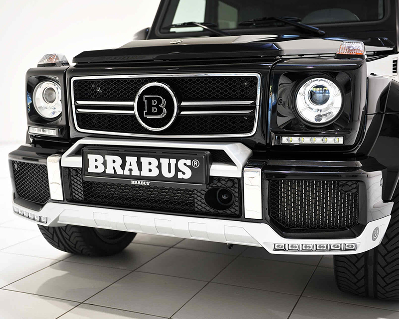 Brabus 463-210-20 Front Spoiler With Daytime Running LED And Turn Signal Function Mercedes Benz G63 | G65 AMG 12-17