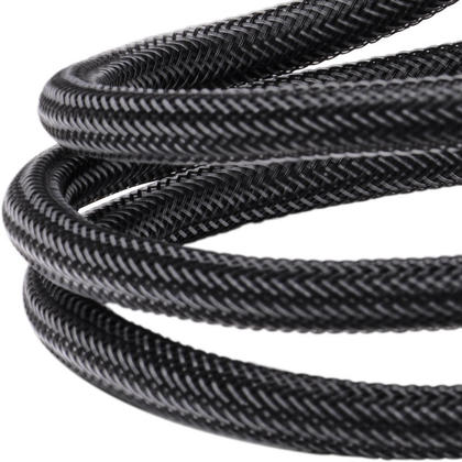 Premium HDMI® 2.0 Cables with Nylon Jacket PrimeCables® Mamba Series - 20Ft (Black)
