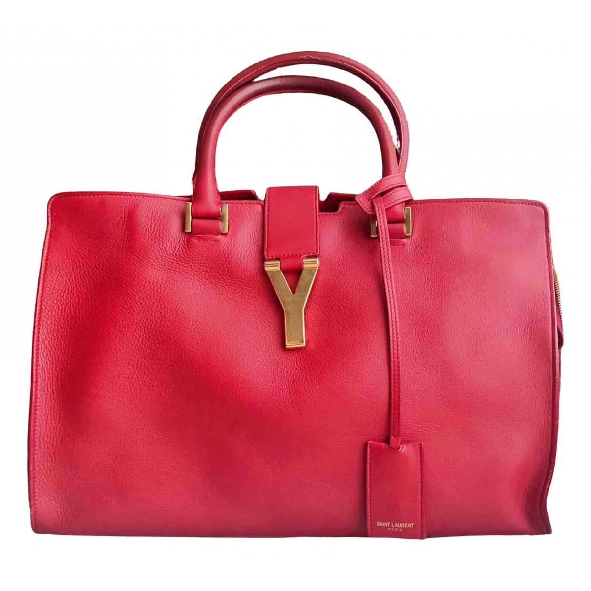 Saint Laurent Chyc Red Leather handbag for Women \N