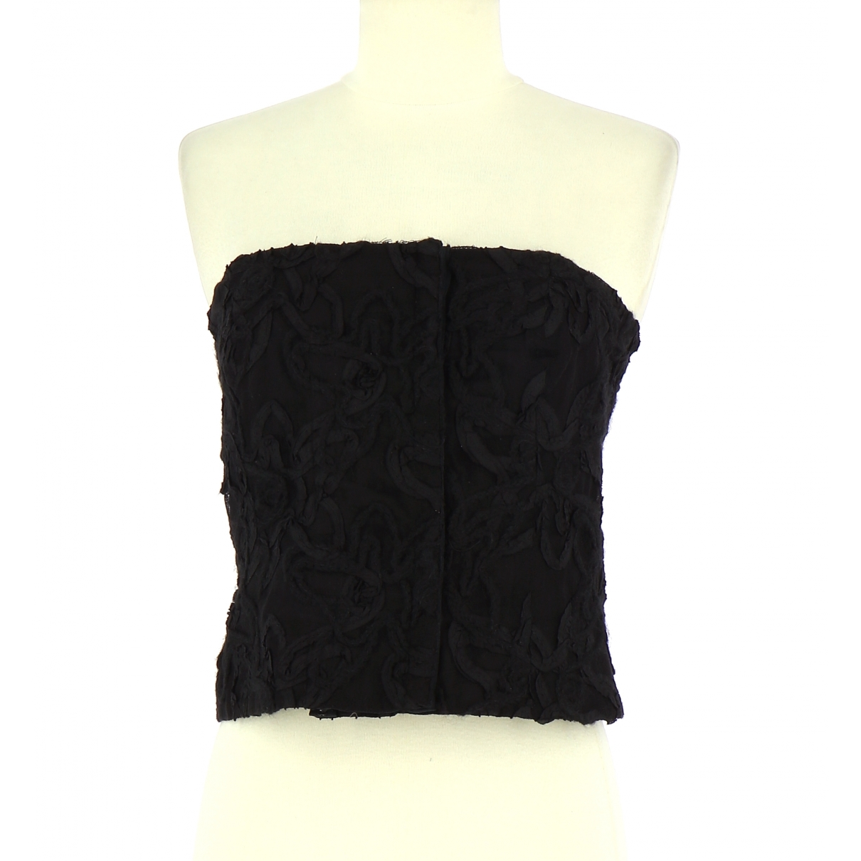 - Top   pour femme en coton - noir