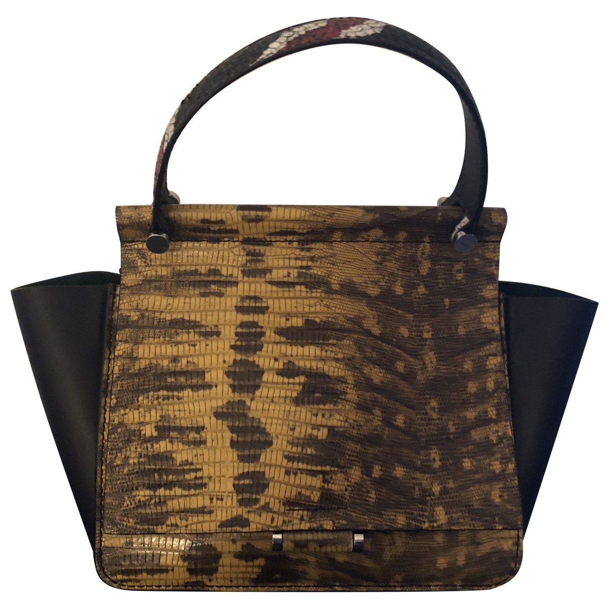 By Malene Birger \N Yellow Leather handbag for Women \N