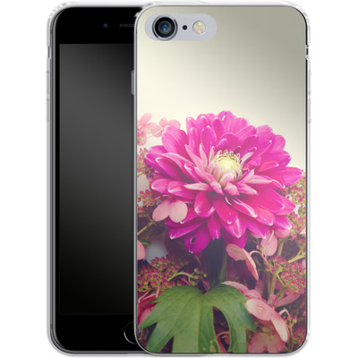 Apple iPhone 6 Plus Silikon Handyhuelle - Pink Dahlia 2 von Joy StClaire