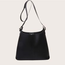 Minimalist Bucket Bag With Inner Pouch