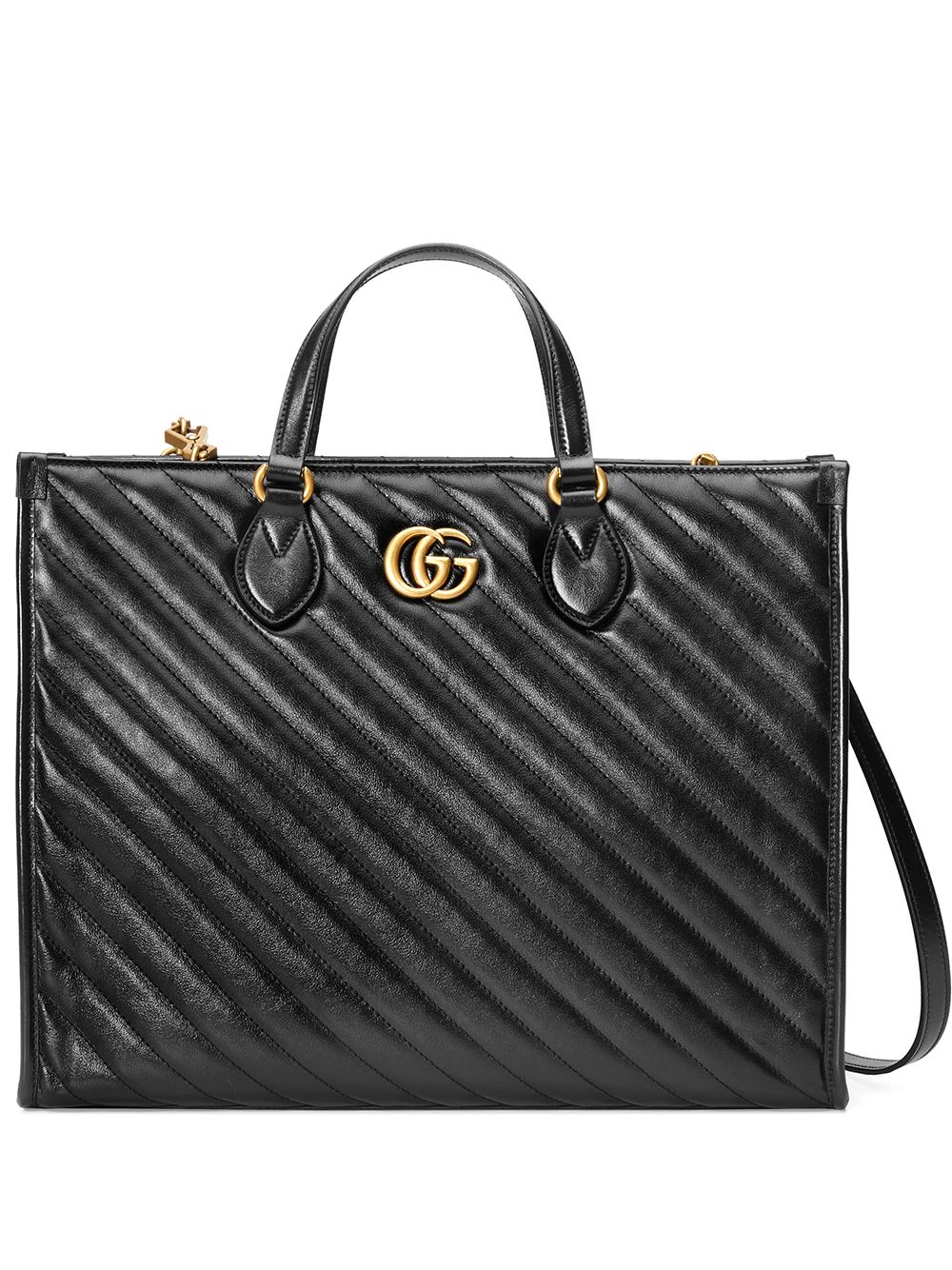 Gg Marmont Top-handle Tote Bag