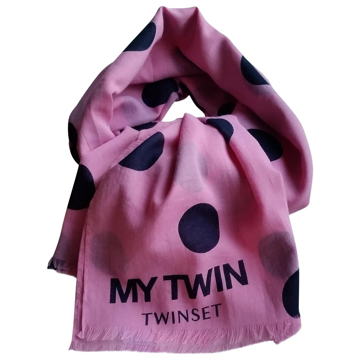 Twin Set \N Schal in  Rosa Baumwolle