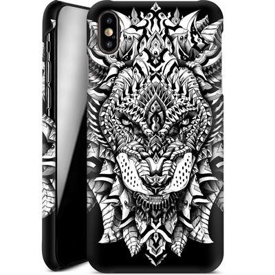 Apple iPhone XS Max Smartphone Huelle - Ornate Lion von BIOWORKZ