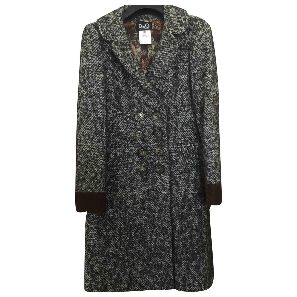 D&g - Manteau   pour femme en laine - marron