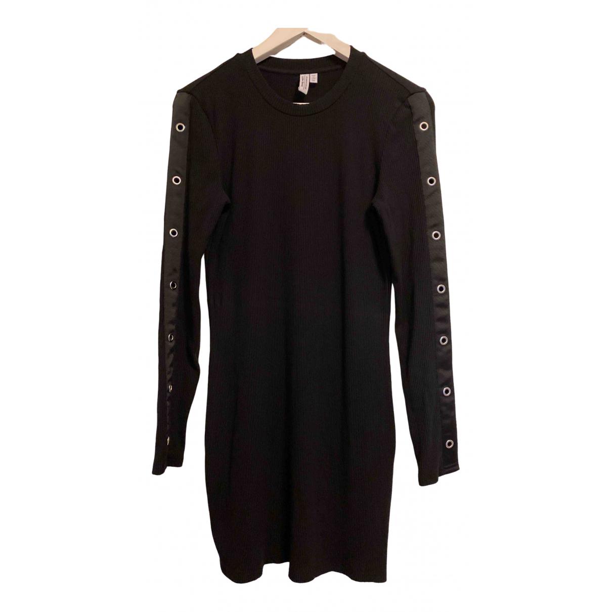& Other Stories - Robe   pour femme en coton - elasthane - noir