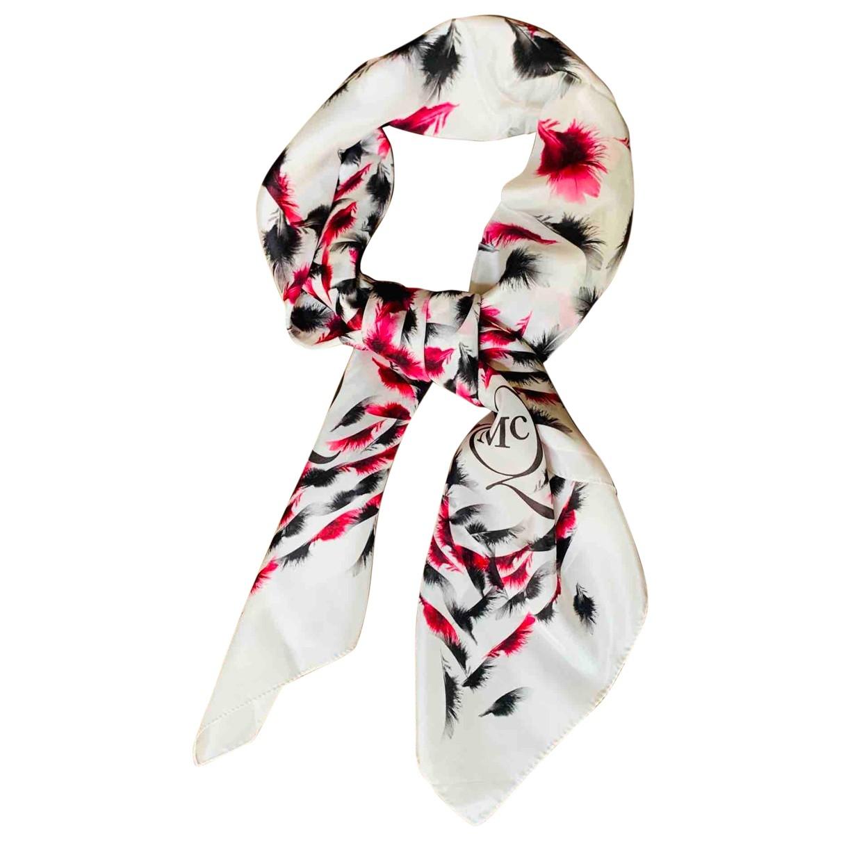 Mcq \N Multicolour Silk scarf for Women \N