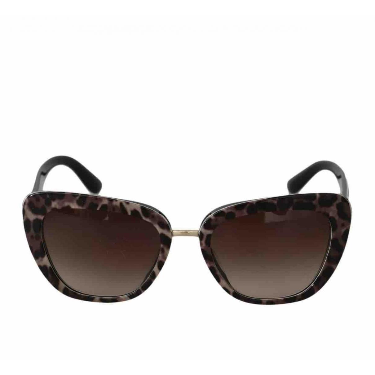 Dolce & Gabbana - Lunettes   pour femme - marron