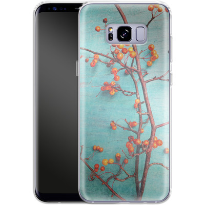 Samsung Galaxy S8 Plus Silikon Handyhuelle - She Hung Her Dreams on Branches von Joy StClaire
