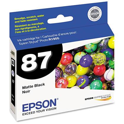 Epson T087820 Original Matte Black Ink Cartridge