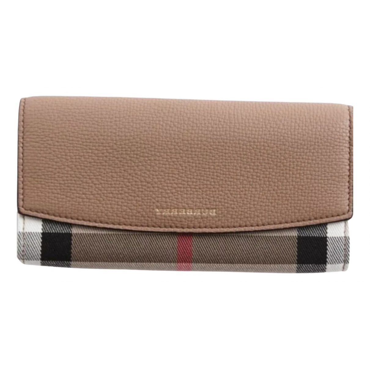 Burberry N Multicolour Leather wallet for Women N