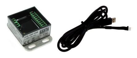 BARTH STG-550 CAN Logic Module Starter Kit, 7 → 32 V dc Digital, 5 x Input, 5 x Output Without Display