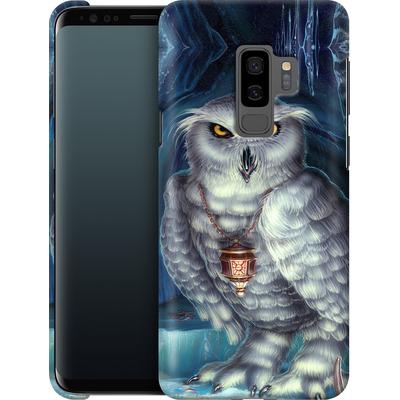 Samsung Galaxy S9 Plus Smartphone Huelle - Ed Beard Jr - Wizard Messenger Owl von TATE and CO