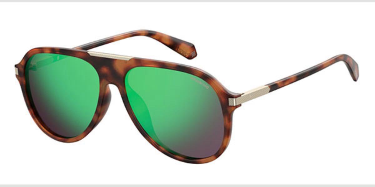 Polaroid PLD 2071/G/S/X Polarized 086/5Z Men's Sunglasses Tortoise Size 58