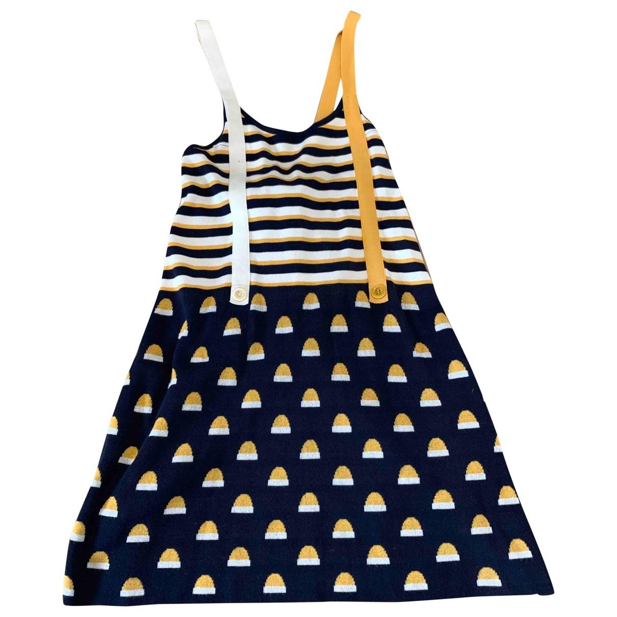 See By Chloe \N Kleid in  Marine Baumwolle