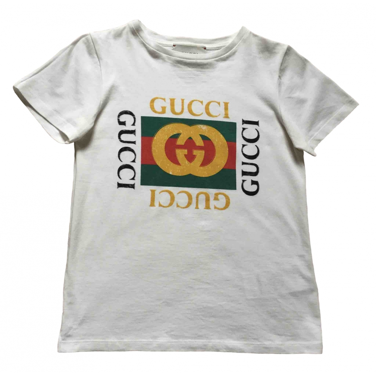 Gucci \N Ecru Cotton  top for Kids 8 years