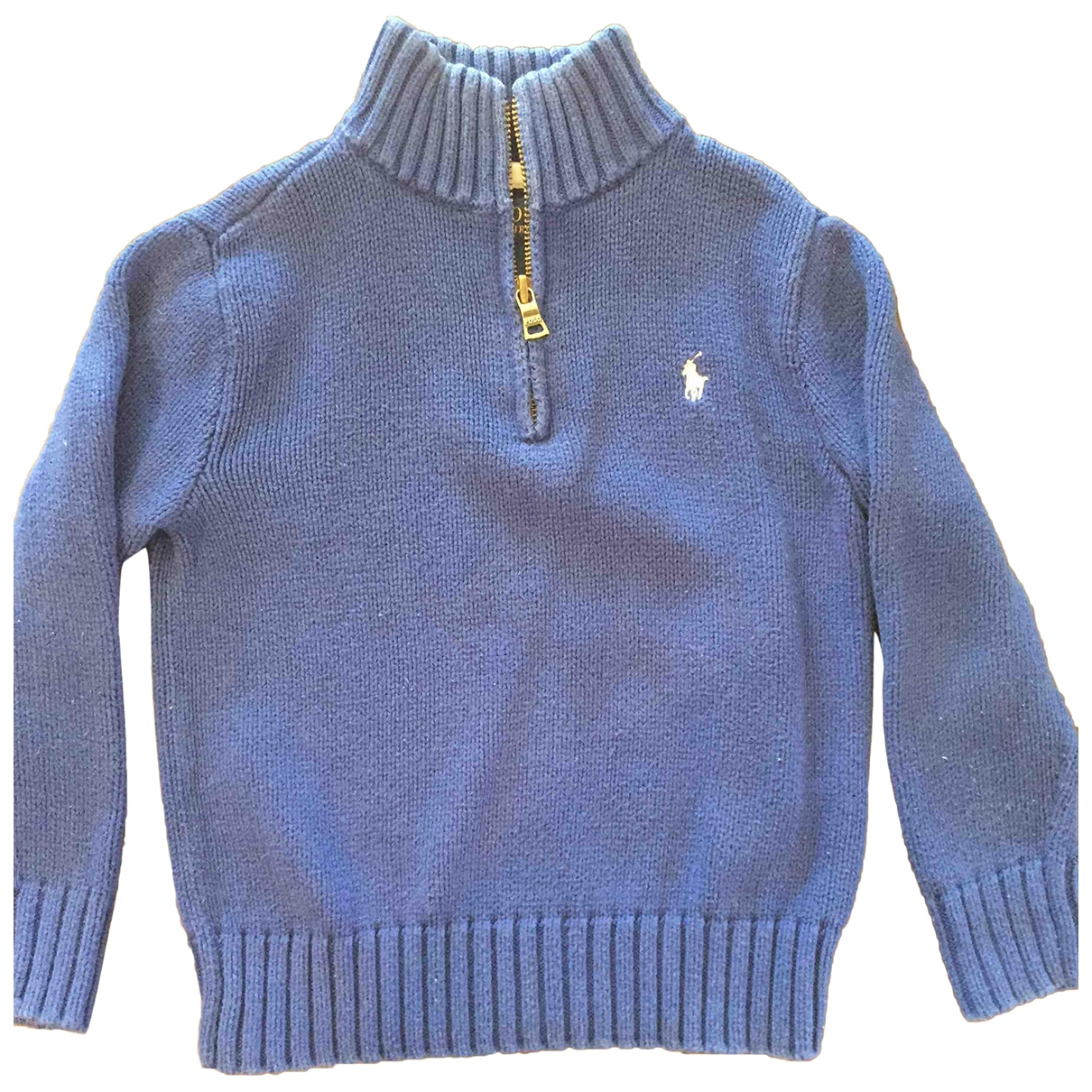 Polo Ralph Lauren \N Blue Cotton Knitwear for Kids 4 years - up to 102cm FR